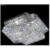 James R. Moder 95644S00 Eclipse Fashion 4 Light 14 inch Silver Flush Mount Ceiling Light
