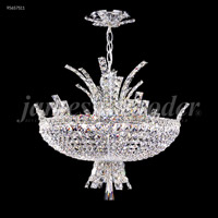 Eclipse Fashion 8 Light 20 inch Silver Mini Chandelier Ceiling Light