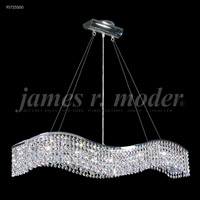 James R. Moder 95725S00 Fashionable Broadway 5 Light 5 inch Silver Chandelier Ceiling Light
