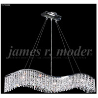 James R. Moder 95735S22 Fashionable Broadway 5 Light 5 inch Silver Mini Chandelier Ceiling Light