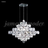James R. Moder 95888S00 Continental Fashion 25 Light 25 inch Silver Chandelier Ceiling Light