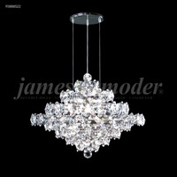 James R. Moder 95887S00 Continental Fashion 13 Light 21 inch Silver Chandelier Ceiling Light