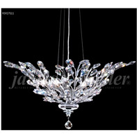 James R. Moder 95927S11 Florale Collection 5 Light 27 inch Silver Pendant Ceiling Light