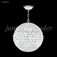 James R. Moder 95934S00LED Sun Sphere LED 14 inch Silver Mini Chandelier Ceiling Light