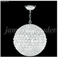 Sun Sphere 8 Light 14 inch Silver Mini Chandelier Ceiling Light
