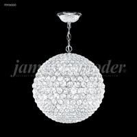 James R. Moder 95936S00 Sun Sphere 8 Light 20 inch Silver Mini Chandelier Ceiling Light