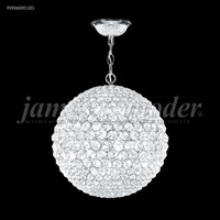 Sun Sphere LED 20 inch Silver Mini Chandelier Ceiling Light