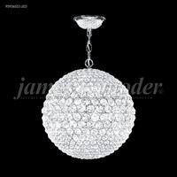 James R. Moder 95936S11LED Sun Sphere LED 20 inch Silver Mini Chandelier Ceiling Light