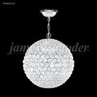 Sun Sphere 8 Light 20 inch Silver Mini Chandelier Ceiling Light
