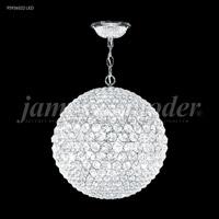 James R. Moder 95936S22LED Sun Sphere LED 20 inch Silver Mini Chandelier Ceiling Light