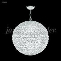 James R. Moder 95938S11 Sun Sphere 32 Light 32 inch Silver Chandelier Ceiling Light