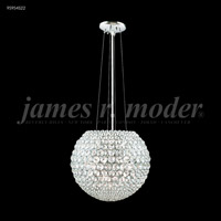 James R. Moder 95954S22 Sun Sphere Collection 8 Light 14 inch Silver Chandelier Ceiling Light