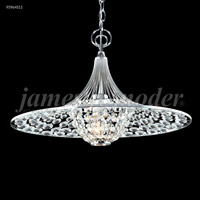 James R. Moder 95964S11 Contemporary Collection 3 Light 17 inch Silver Pendant Ceiling Light