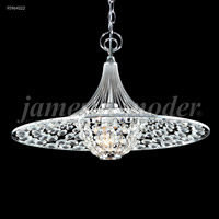 James R. Moder 95964S22 Contemporary 3 Light 17 inch Silver Pendant Ceiling Light