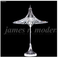 James R. Moder 95965S22 Contemporary Collection 24 inch 60 watt Silver Table Lamp Portable Light