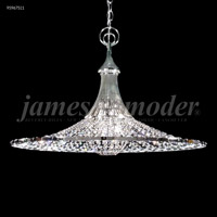 James R. Moder 95967S11 Contemporary Collection 3 Light 26 inch Silver Pendant Ceiling Light