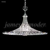 James R. Moder 95967S22 Contemporary Collection 3 Light 26 inch Silver Pendant Ceiling Light