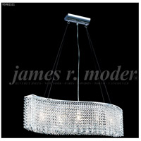 James R. Moder 95981S11 Fashionable Broadway Collection 5 Light 7 inch Silver Chandelier Ceiling Light