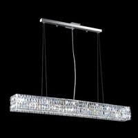 James R. Moder 95986S11 Contemporary Collection 3 Light 5 inch Silver Chandelier Ceiling Light