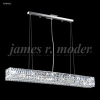 James R. Moder 95989S11 Contemporary 8 Light 5 inch Silver Mini Chandelier Ceiling Light