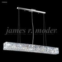 James R. Moder 95989S22 Contemporary 8 Light 5 inch Silver Mini Chandelier Ceiling Light