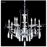 James R. Moder 96009S2JA Tassel Collection 12 Light 30 inch Silver Chandelier Ceiling Light