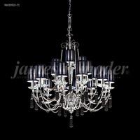 James R. Moder 96010S2J-71 Tassel 21 Light 35 inch Silver Chandelier Ceiling Light