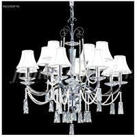 James R. Moder 96019S0P-95 Pearl 12 Light 30 inch Silver Chandelier Ceiling Light