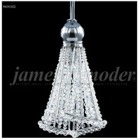 James R. Moder 96041S22 Jewelry Collection 1 Light 4 inch Silver Pendant Ceiling Light