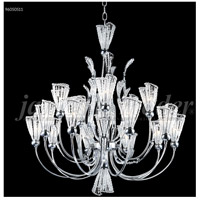 James R. Moder 96050S11 Jewelry Collection 15 Light 32 inch Silver Chandelier Ceiling Light