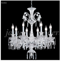 James R. Moder 96118S22 Le Chateau 8 Light 32 inch Silver Chandelier Ceiling Light