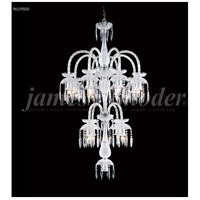 James R. Moder 96119S00 Le Chateau 12 Light 32 inch Silver Chandelier Ceiling Light