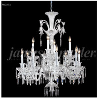 James R. Moder 96122S11 Le Chateau 12 Light 32 inch Silver Chandelier Ceiling Light