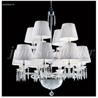 James R. Moder 96129S00-74 Le Chateau 12 Light 34 inch Silver Crystal Chandelier Ceiling Light