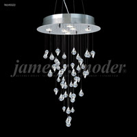 Crystal Medallion Mini Chandeliers