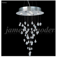 James R. Moder 96145S22 Medallion Collection 6 Light 20 inch Silver Chandelier Ceiling Light