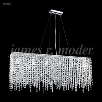 James R. Moder 96178S11 Continental Fashion 6 Light 6 inch Silver Mini Chandelier Ceiling Light