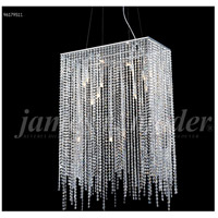 Continental Fashion 16 Light 12 inch Silver Mini Chandelier Ceiling Light