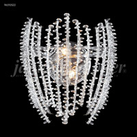 Continental Fashion 2 Light 13 inch Silver Mini Chandelier Ceiling Light