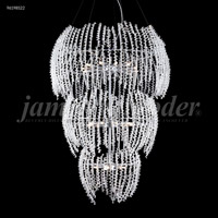 James R. Moder 96198S22 Continental Fashion 27 Light 32 inch Silver Entry Chandelier Ceiling Light Large