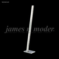 Signature 66 inch Silver Floor Lamp Portable Light