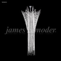 James R. Moder 96226S11 Medallion 12 Light 34 inch Silver Crystal Chandelier Ceiling Light
