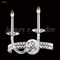 James R. Moder 96242S22 Ashton 2 Light Silver Wall Sconce Wall Light