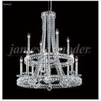 James R. Moder 96249S22 Ashton 12 Light 28 inch Silver Crystal Chandelier Ceiling Light