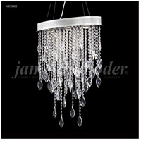 Crystal Sculptured Leaf Chandeliers