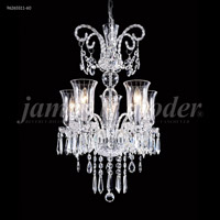 James R. Moder 96265S11-60 Venetian 5 Light 20 inch Silver Mini Chandelier Ceiling Light