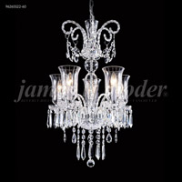 James R. Moder 96265S22-95 Venetian 5 Light 20 inch Silver Mini Chandelier Ceiling Light