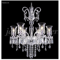 James R. Moder 96266S11-60 Venetian 6 Light 28 inch Silver Chandelier Ceiling Light