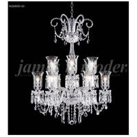 James R. Moder 96268S00-60 Venetian 12 Light 32 inch Silver Chandelier Ceiling Light