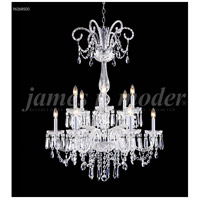 James R. Moder 96268S00 Venetian Collection 12 Light 32 inch Silver Chandelier Ceiling Light